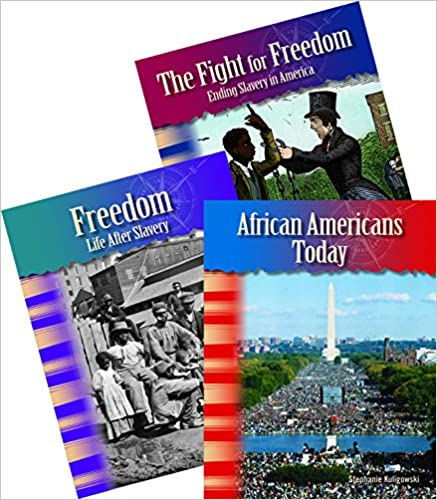 Book African American History 3-Book Set (African American History 3-Book Set) (Teacher Created Materials Library)