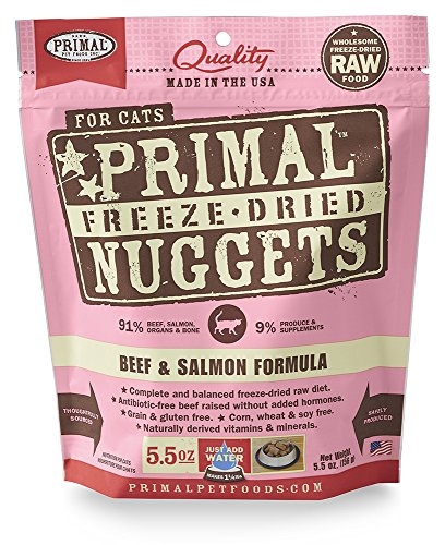 Primal Pet Foods Freeze-Dried Feline Beef Formula 5.5 Oz