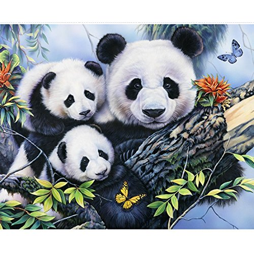 Family Picture Fabric Panel - Wild Instincts Digital Print - 35