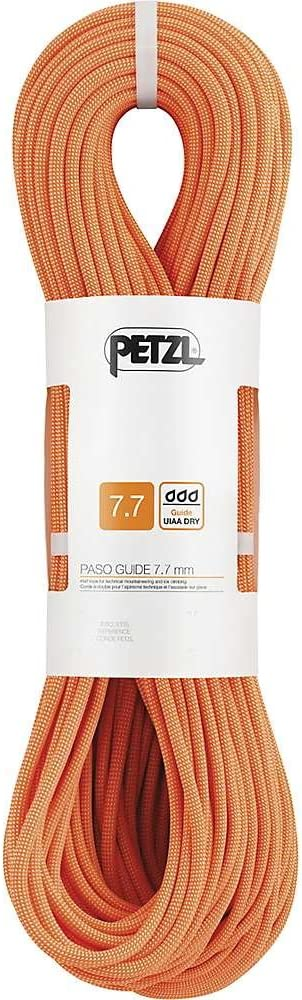 PASO Guide 7.7 mm PETZL Rope for Technical Mountaineering and Ice Climbing