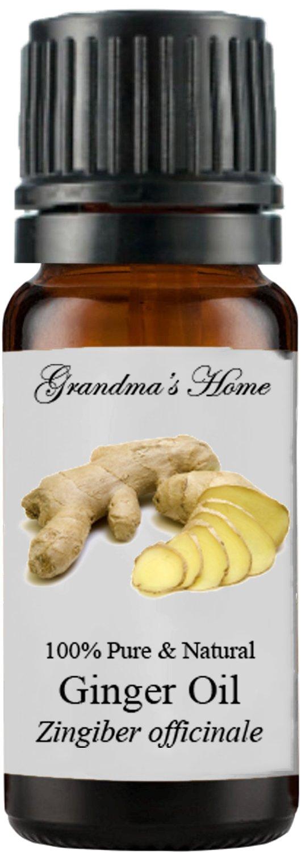 Grandma's Home Essential Oils - 100% Pure Therapeutic Grade (Ginger, 10 mL)
