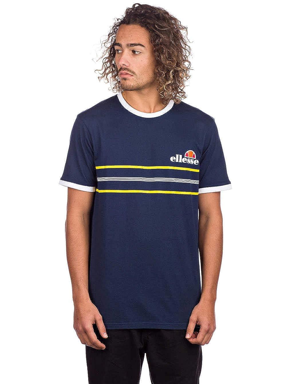 ellesse Mens Gentario T Shirt in Navy |