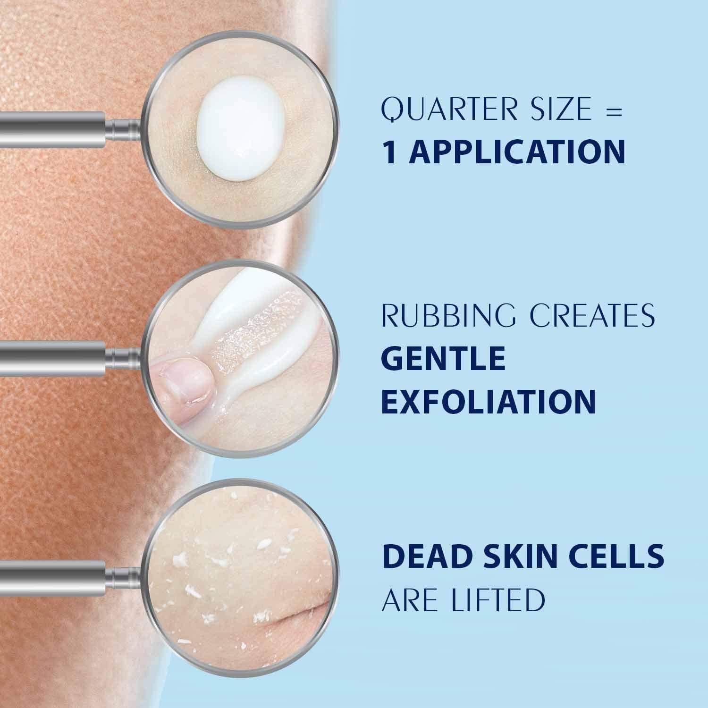 (4.9 fl.oz / 145ml) Ebanel Ultimate Brightening Peeling Gel - Gentle Exfoliator