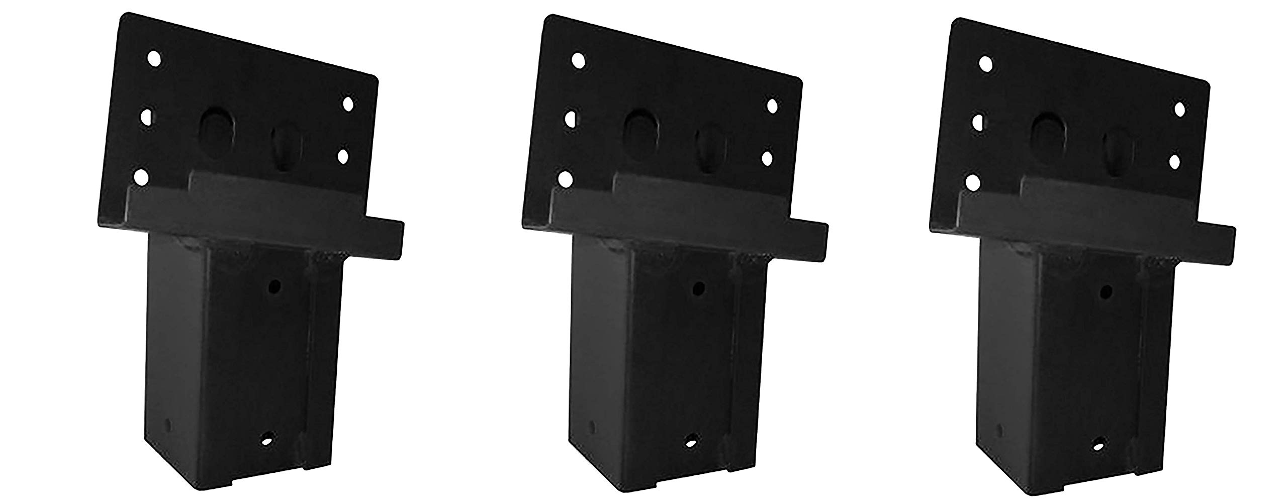 Elevators 4x4 Brackets for Deer Blinds, Playhouses, Swing Sets, Tree Houses. Made in The USA with Premium Construction Grade Steel. (Set of 4) (3 X Pack of 4)