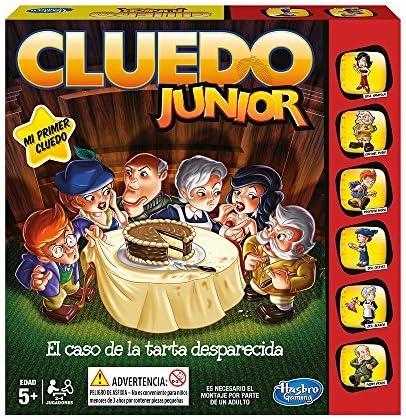 Hasbro - Cluedo Junior, El Caso de la Tarta desaparecida (B0335105 ...