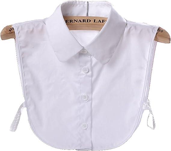 Details about  /Upscale Detachable Dickey Peterpan Choker Elegant Sweet Blouse False Collar O3