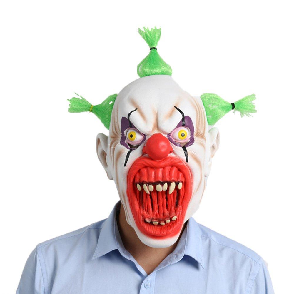 Fly Halloween Party Supplies Latex Maske Blut Mund Clown Maske Halloween Horror Grimasse V-Vendetta Maske