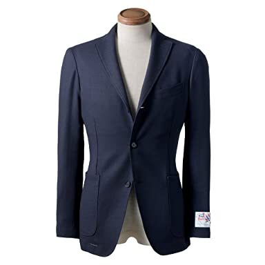 New Balloon Wool Jacket BYJ-05: Navy