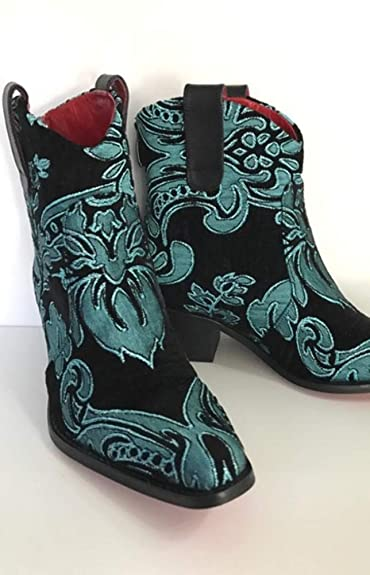 b94435d8a84 Amazon.com | Rockwell Tharp Nyla Short Cowboy Bootie | Boots