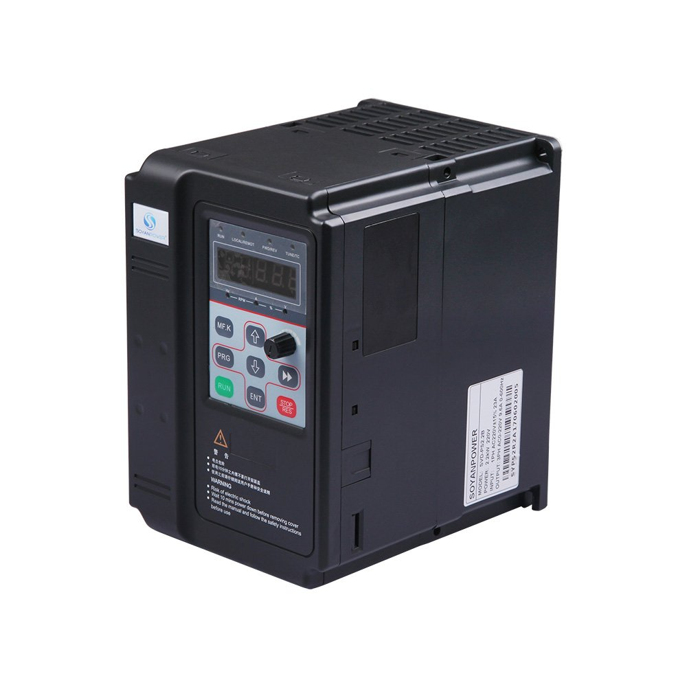 LAPOND New Series VFD Inverter VFD Drive 2.2KW 220V 3HP 9.6A,Variable Frequency Drive For Motor Speed Control (2.2KW)