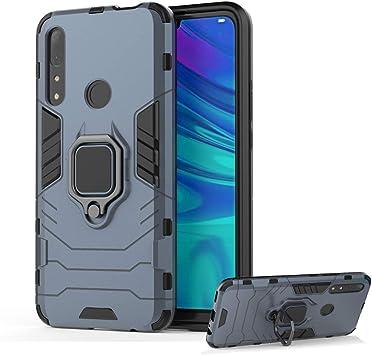 DESCHE para Funda Huawei P Smart Z, Fundas con Anillo + Cristal Templado, Compatible con el Soporte Magnético para Automóvil, Carcasa Dura Resistente a los Arañazos: Amazon.es: Electrónica