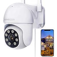 $47 » Outdoor Security Camera, AIMECOR FHD 1080P Pan/Tilt 2.4G WiFi Home Surveillance…