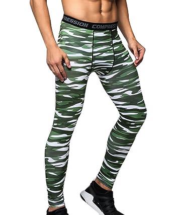 Leggings Sport Homme Collant De Compression Sport Pantalon Elastique Gym  Fitness Pantalons  Amazon.fr  Vêtements et accessoires 8fc4624835b