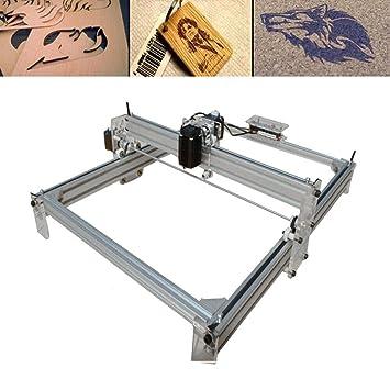 Máquina de grabado láser DIY de 500 MW, impresora láser CNC con ...