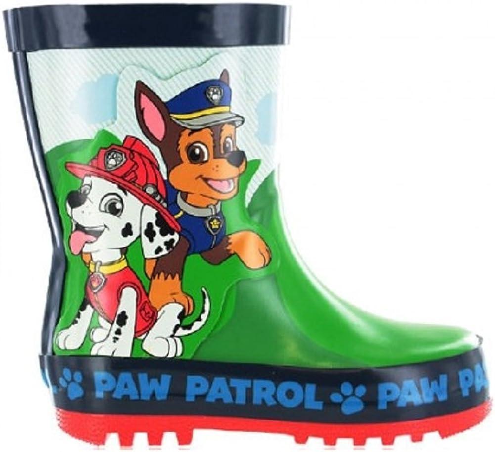 Boys Paw Patrol Wellington Boots Size 4 5 6 7 8 9 10 Infants