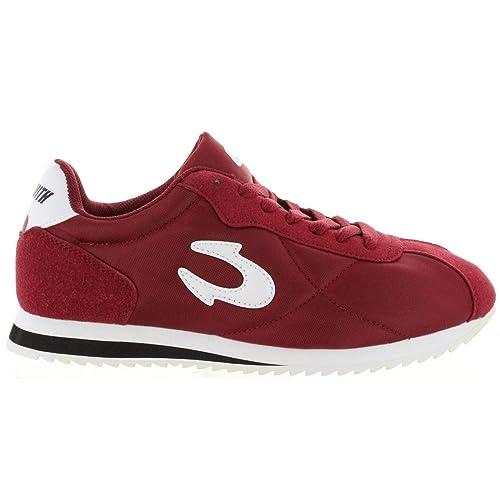 Zapatillas Deporte de Hombre y Mujer JOHN SMITH CORSAN 18I Granate: Amazon.es: Zapatos y complementos
