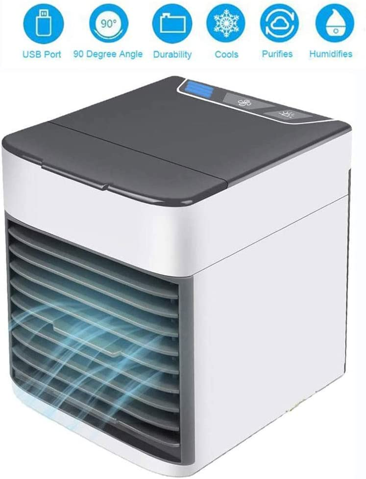 HJHY Air Cooler - Aire acondicionado portátil 3 en 1 ...