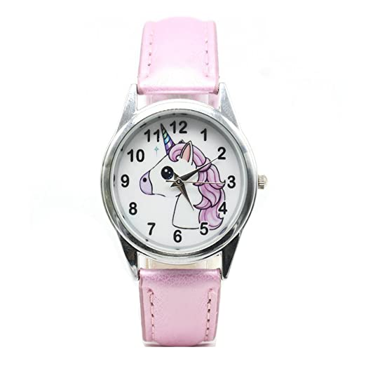 Disney Brand Children Girls Wristwatch Quartz Leather Waterproof Child Watch Girl Cartoon Frozen Childrens Watches Watches