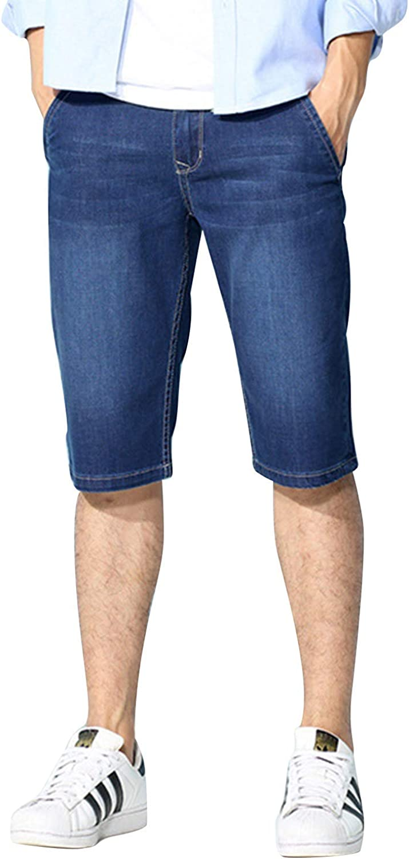 Earlish Mens Slim Fit Solid Short Sleeves Premium Dress Shirts of Various Colors