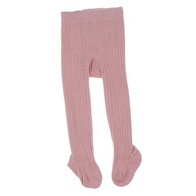 bd485b50bc5ae Perfk 幼児 女の子 ストッキング 赤ちゃん 子供 ケーブル ニット コットン タイツ パンツ 暖かい 快適 全4サイズ