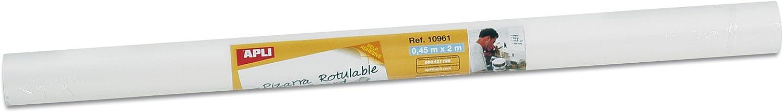 APLI 10961 - Rollo adhesivo de pizarra: Amazon.es: Oficina y papelería