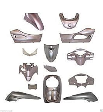 KIT LOS CASCOS HONDA SH 300 NHA48 2007 2011, COLOR GRIS