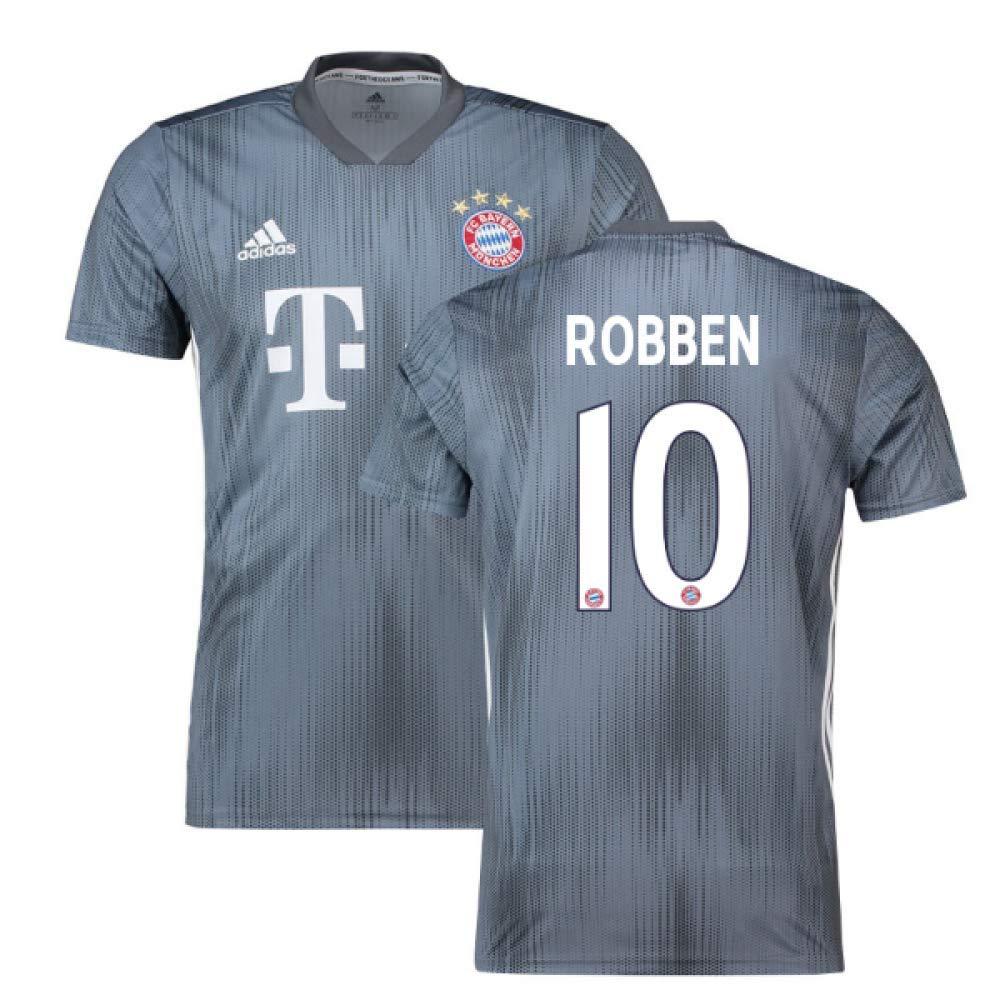 2018-19 Bayern Munich Third Football Soccer T-Shirt Trikot (Arjen Robben 10)