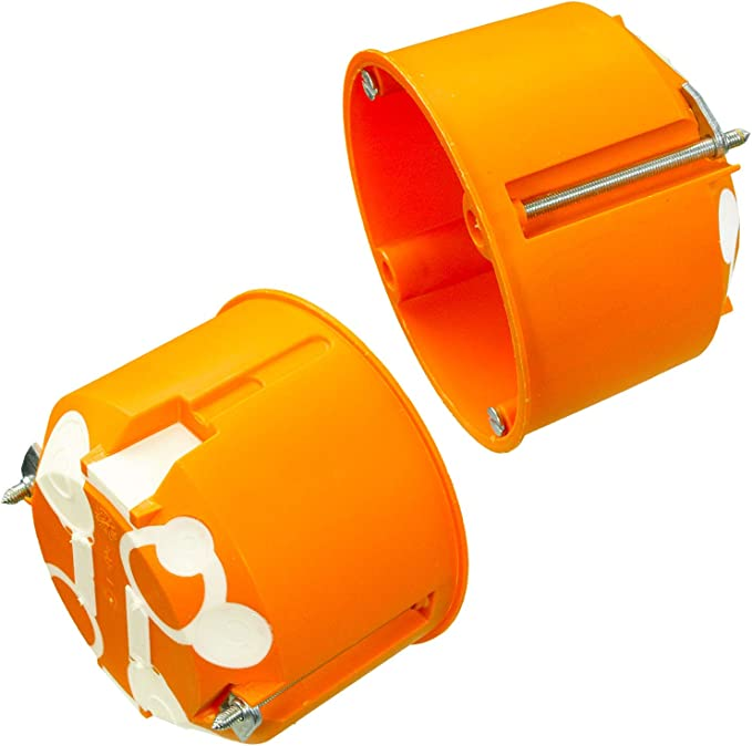 40 VDE Hohlwanddosen mit Membranen Ger/ätedosen 68 x 61 mm winddicht Verbindungsdosen