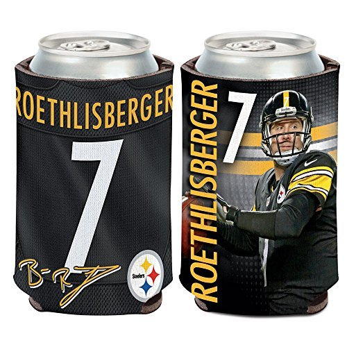 Pittsburgh Steelers Ben Roethlisberger 12Oz Can Cooler