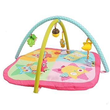 c217b821cc24ec Labebe -Tapis d éveil pour bébé - Tapis d activité renard avec arche ...