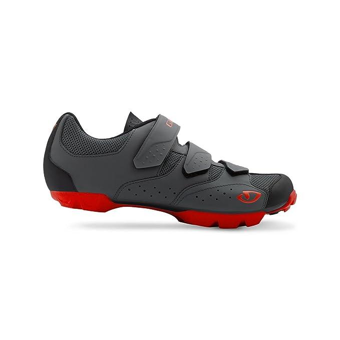 Giro 2018 Carbide RII MTB - Zapatillas de Ciclismo para Hombre, Color Negro y Rojo: Amazon.es: Deportes y aire libre