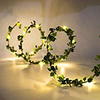 Gaosheng 3M 30 LED Fairy Lights String Ivy Plants Halloween kerstbomen Tuinwerf Thuis Patio Bruiloft Party Slaapkamer…