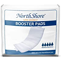 NorthShore Booster Pads for Men and Women with Adhesive, X-Small, Case/90 (3/30s)