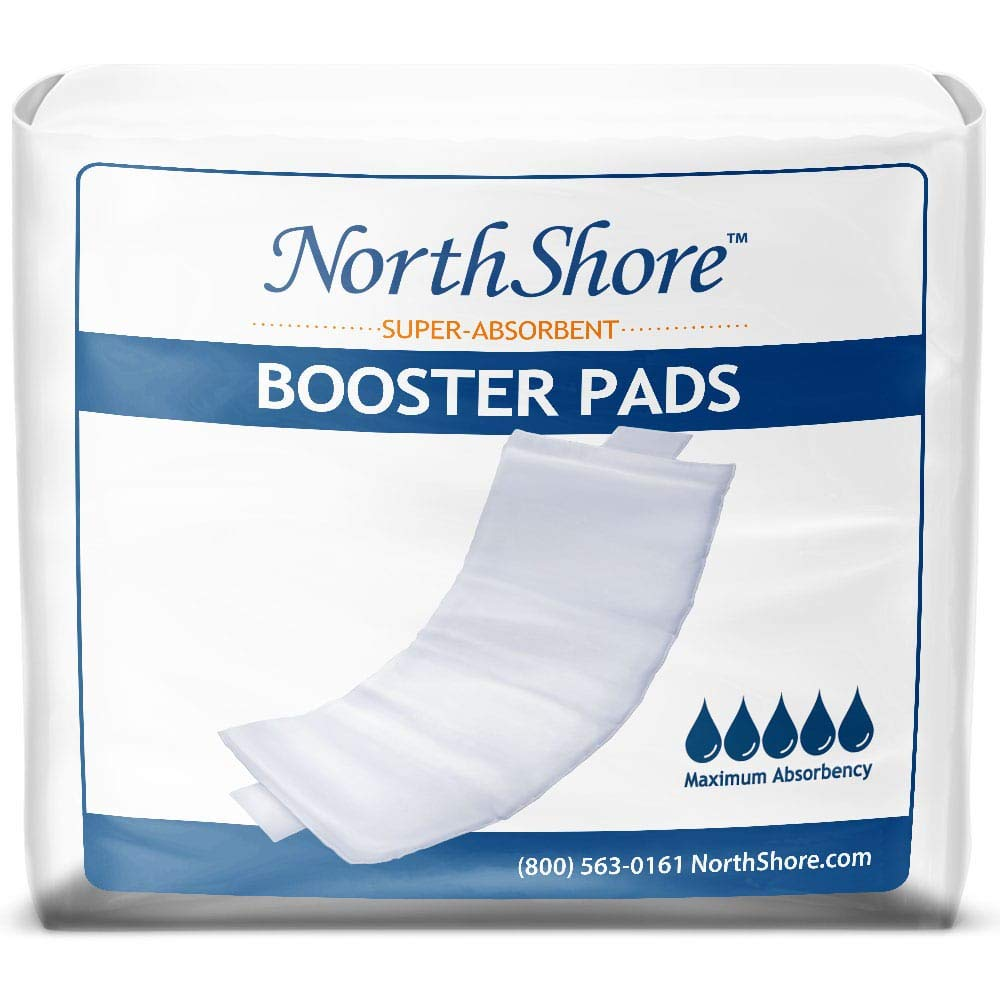NorthShore Booster Pads with Adhesive, Large, Pack/30 by NorthShore