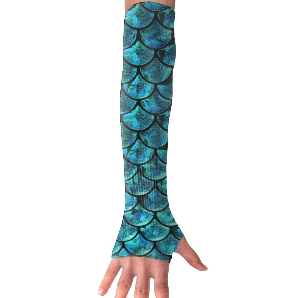 Unisex Scales Fish Sense Ice Outdoor Travel Arm Warmer Long Sleeves Glove by Suining (Image #9)