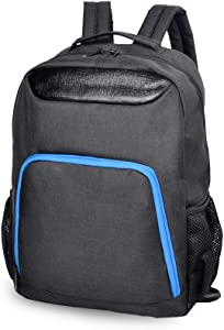 Men Laptop Backpack, IPOTECH 15.6 Inch Travel Business Backpacks Lightweight College School Computer Bags Black