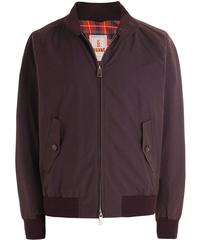Baracuta Hombres moderna chaqueta clásica de harrington G9 Pasas De Uva chic 2ab004ff84fa8