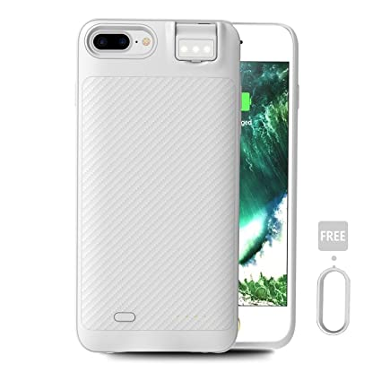 iphone 8 plus battery case white