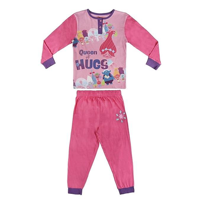 Pijama niña Trolls fucsia dos piezas (7)