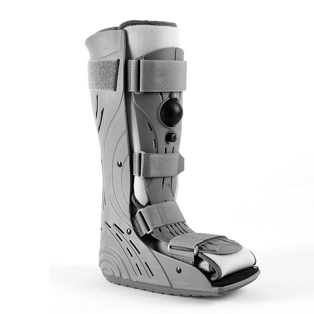 Aircast Walker Brace Extra Pneumatic Proshell Walking Boot Rupture of Achilles Tendon Rehabilitation Shoes Ankle Foot Fracture (L)