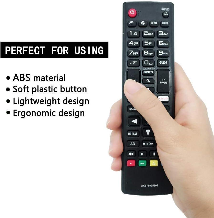 FOXRMT - Mando a distancia LG para Smart TV AKB75095308: Amazon.es: Electrónica