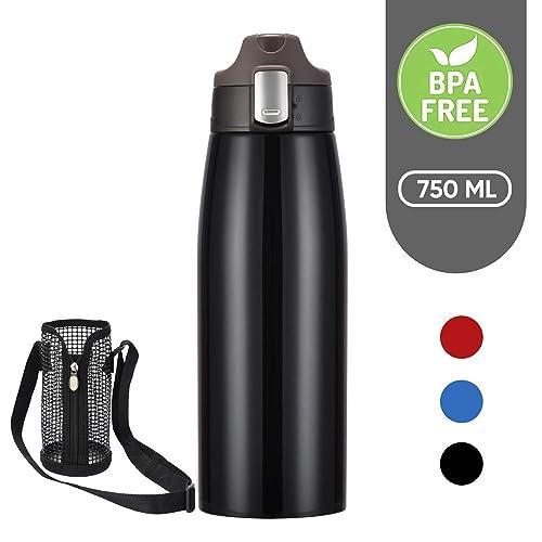 Botella Térmica Acero Inoxidable 750ml YANGLING, Aislamiento de Vacío Botella Agua, Libre De BPA