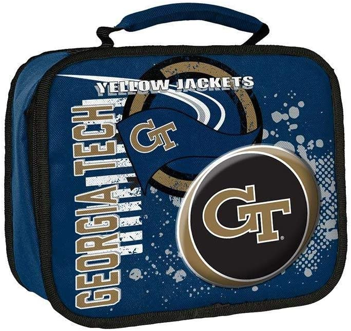 Multi Color 10.5 x 8.5 x 4 Officially Licensed NCAA Accelerator Lunch Kit Bag