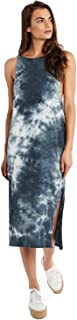 product image for Groceries Apparel Womens Leonis Tie Dye Midi Dress Cloud Small, Medium, Large