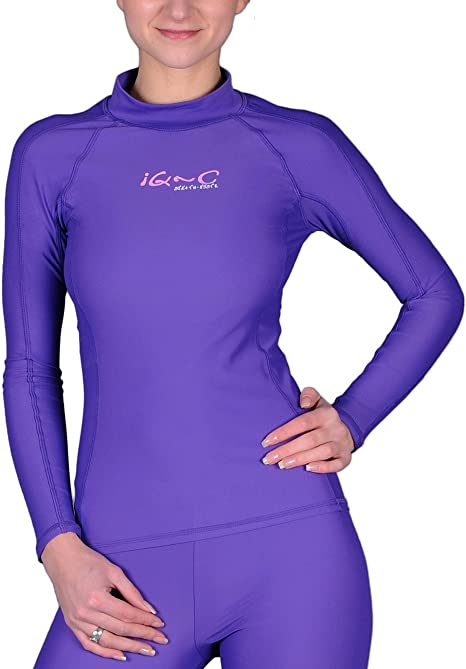 iQ-Company Maglia Tecnica UV 300 Violetto 2XS