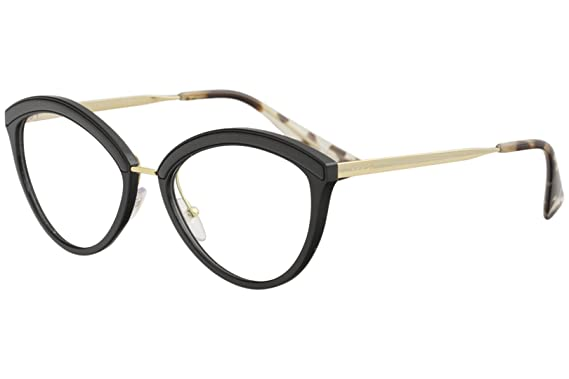 3026f4e28837 Amazon.com  Prada Women s Cat Eye Glasses