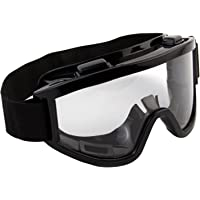 a97278e3861f 7Trees Adult Motorbike ATV   Dirt Bike Racing Transparent Goggles With  Adjustable Strap - Black