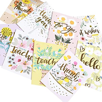 Tarjetas de agradecimiento para el día del profesor ...