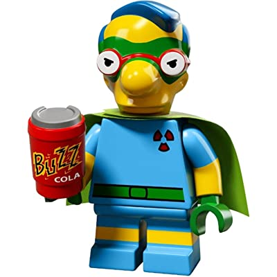 LEGO The Simpsons Series 2 Collectible Minifigure 71009 - Milhouse (Fallout Boy): Toys & Games