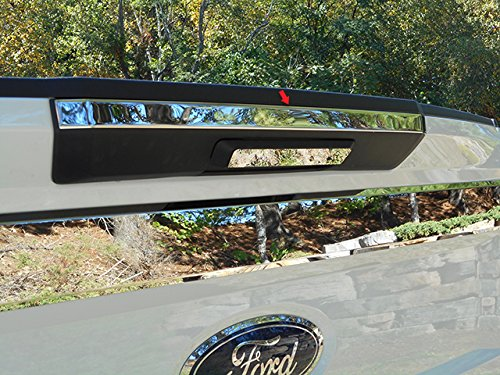 QAA fits 2017-2019 Ford F-250 & F-350 Super Duty (1 Piece Stainless Tailgate Handle Accent Trim, 1.188